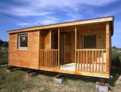 Выбираем современную деревянную бытовку