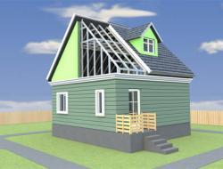 Квадратный одноэтажный дом отличный вариант для любого участка