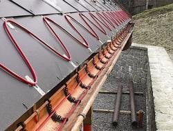 Система обогрева крыши: принцип действия, достоинства, монтаж