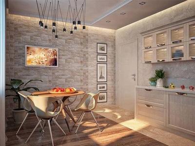 Возможные варианты отделки кухни в квартире