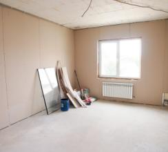 С чего начинать ремонт в одной комнате