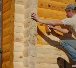 Как обработать дом из бруса: древесные пропитки, используемые в момент строительства